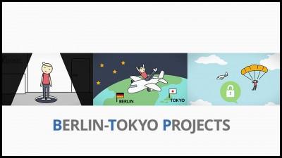画像:プロジェクト紹介アニメーション制作「ベルリン東京プロジェクト」