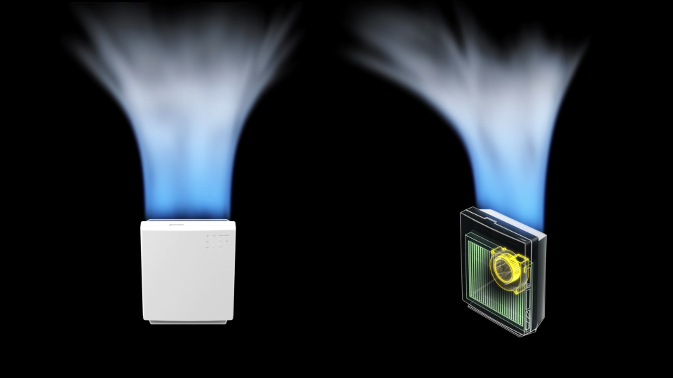 画像:3DCGシミュレーション動画制作 – ブロアファン/山洋電気